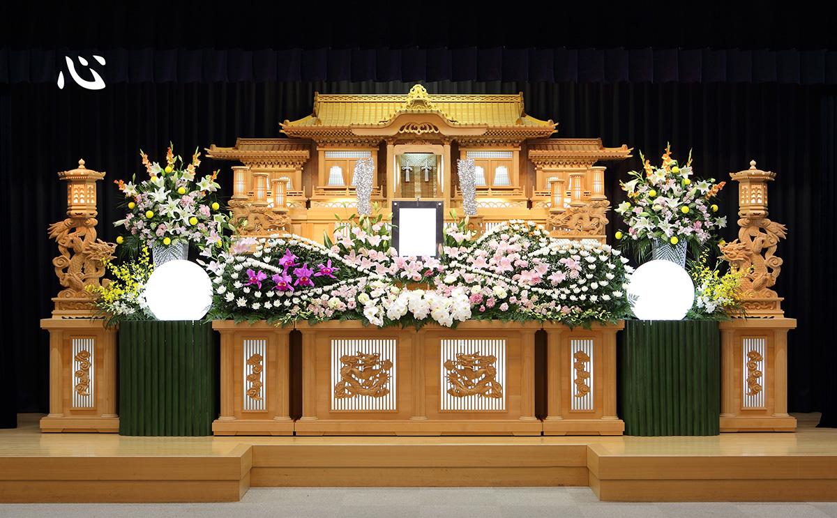 生花祭壇「心」